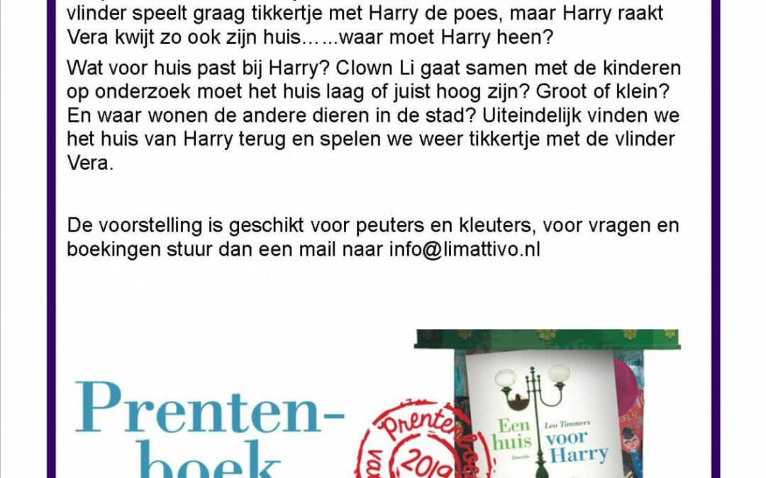 """Nieuwe voorstelling """"een huis voor Harry"""""""
